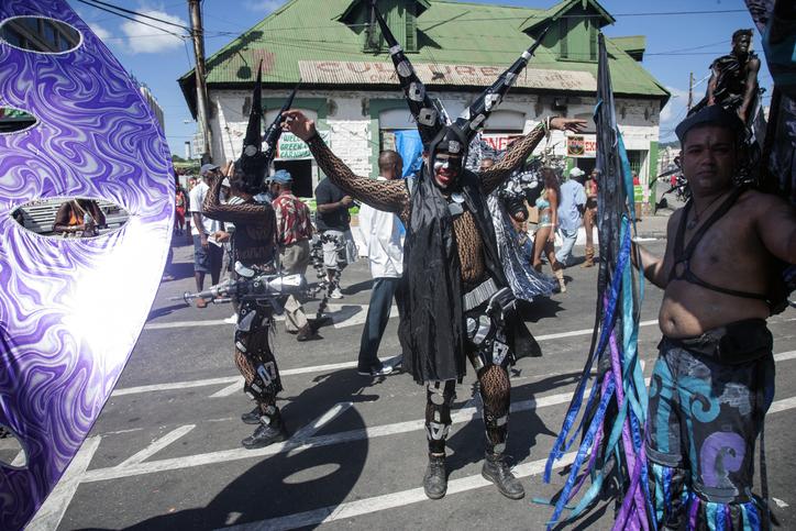 Trinidad Carnival 2008 Green Corners