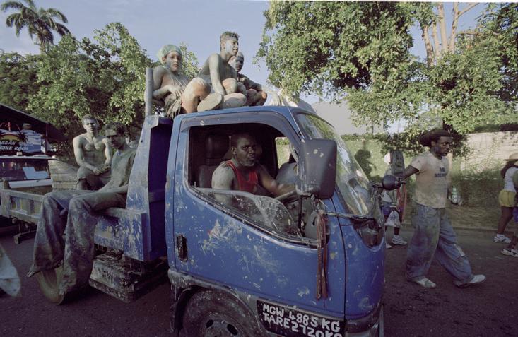 Trinidad Carnival 2006 Jouvet Mudders Mud Truck